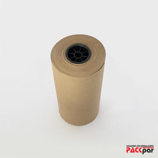 Bobina de Papel Semi Kraft - Packpar | Soluções em Embalagens